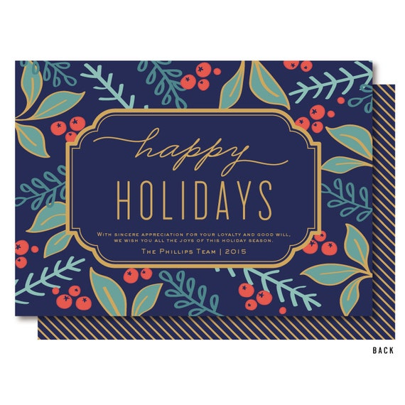 Corporate Holiday Cards Business Holiday Cards Business