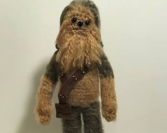 Chewbacca Amigurumi Crochet doll Pattern