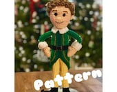 PDF Buddy the Elf doll Crochet Amigurumi Pattern
