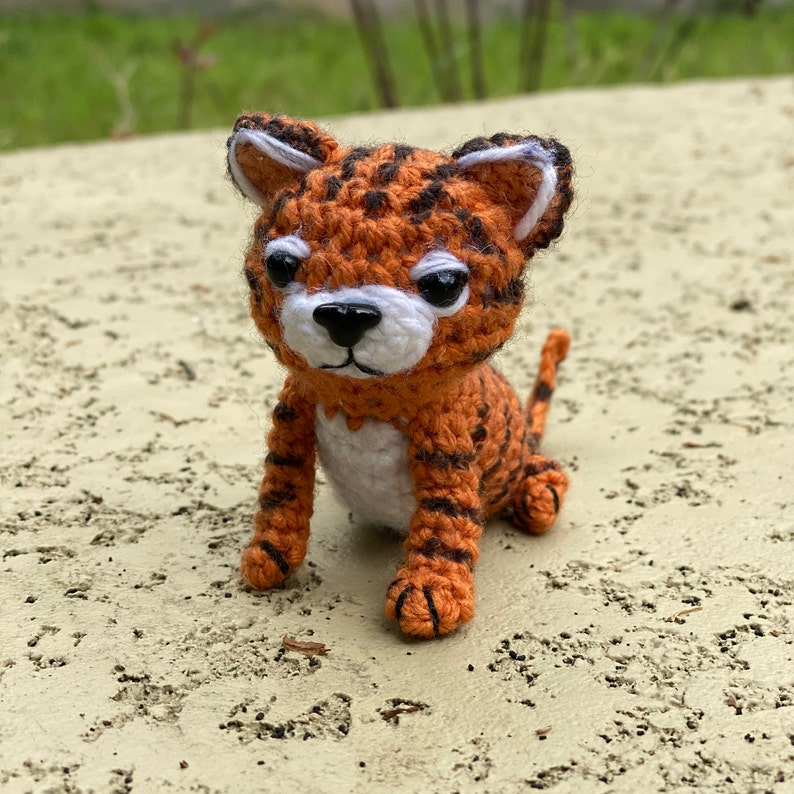 PDF Exotic Tiger Man Crochet Amigurumi Pattern image 3