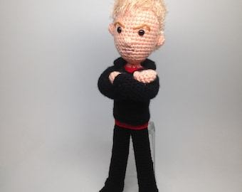 The Master Doctor Who Amigurumi doll Crochet Pattern