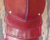 Pauldron - Pauldron A Ox Blood Red