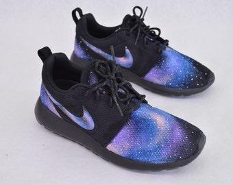 2cabba59497 Nike Roshe Run - Custom Hand Painted Galaxy Design
