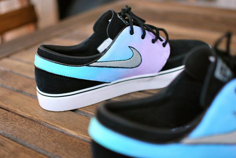 3cbbfb74c1ce Pastel Color Tie Dye Nike Zoom Stefan Janoski Sneakers
