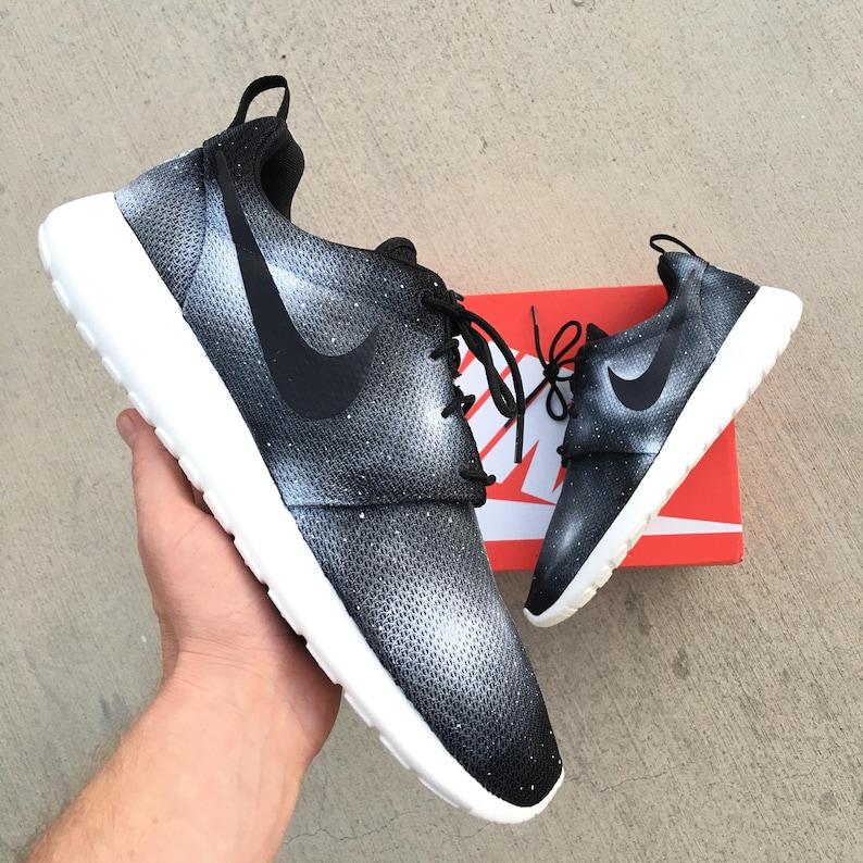 739845625639 Twilight Zone Custom Hand Painted Nike Roshe