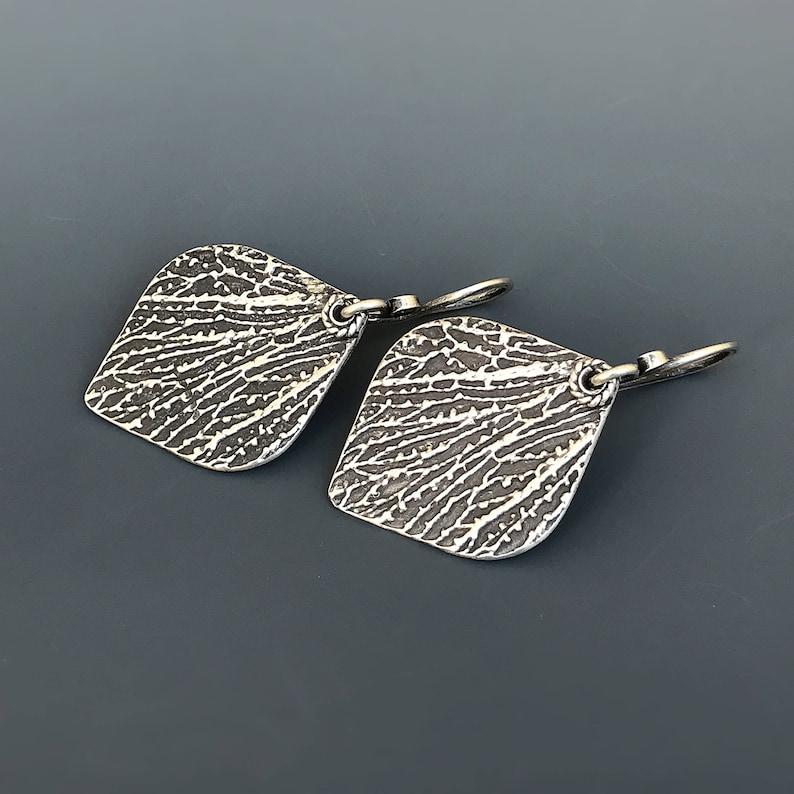 Sterling Silver Minutiae Dangle Earrings christmas gift image 0