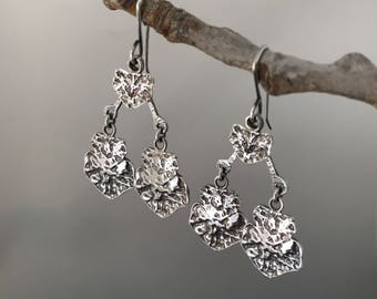 Sterling Silver earrings, dangle earrings, gift idea for her, gift for her, small gift for her, jewelry gift, presents for her, female gifts