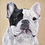 CUSTOM Pet Portrait Oil Painting 12x12
