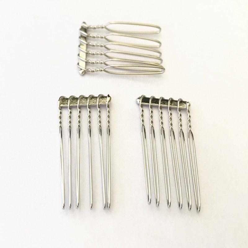 22mmx35mm de 100 pièces (6teeth) K blanc cheveux peignes peignes peignes RT023 6c7d39