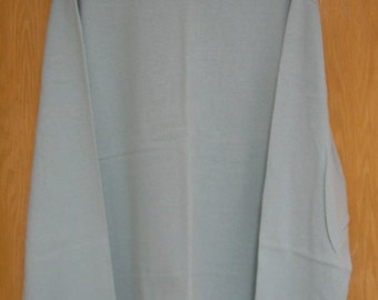 vintage pale antique aqua 'Mossimo' long sleeve turtleneck jersey . . mens XL ud4cXTY
