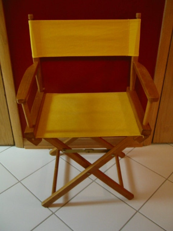 Stupendous Vintage Wood And Canvas Hollywood Directors Chair Folding Chair Camping Tailgating Extra Seating Excellent Pre Owned Condition Squirreltailoven Fun Painted Chair Ideas Images Squirreltailovenorg