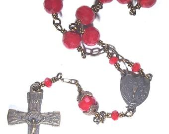Blessed Sacrament Pocket Rosary