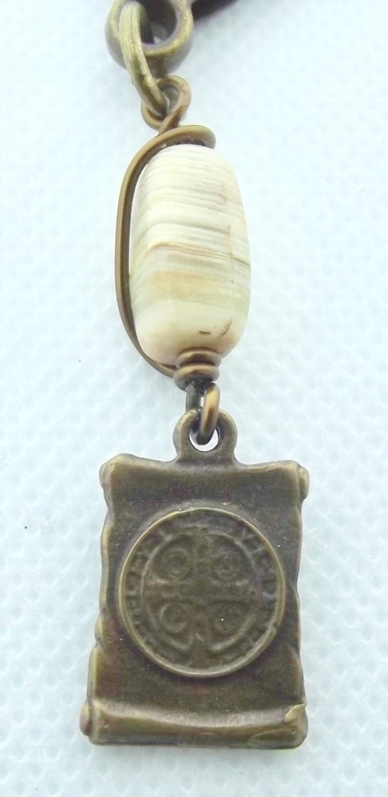 St Benedict Catholic Keychain