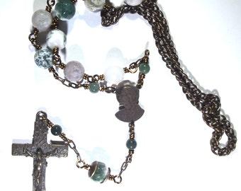 Sacred Heart Car Rosary