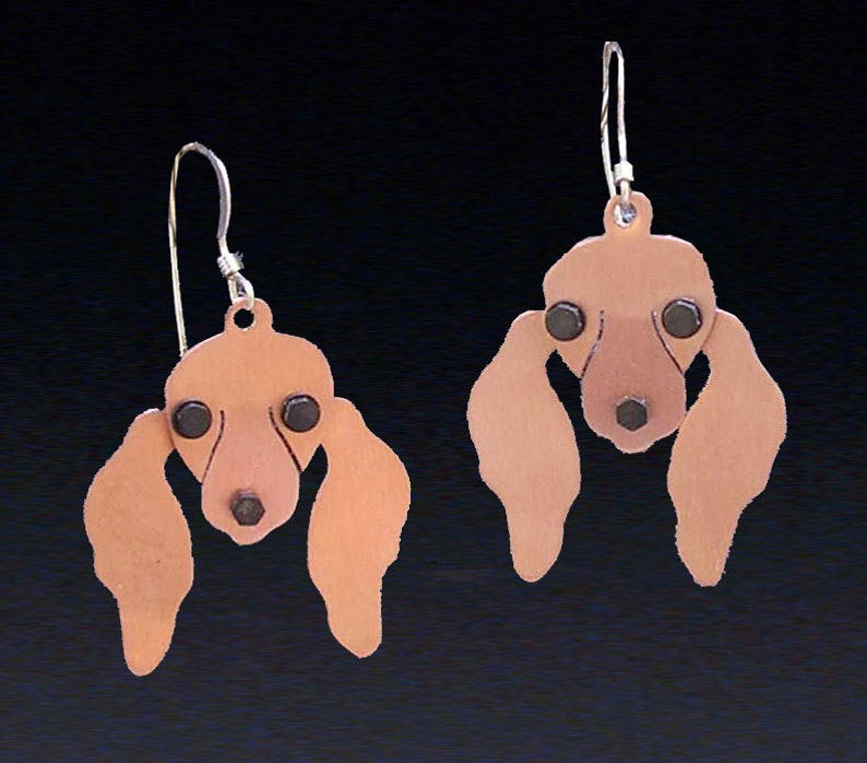 5d1559a6c Dachshund Jewelry Dachshund Earrings by Anita Edwards | Etsy