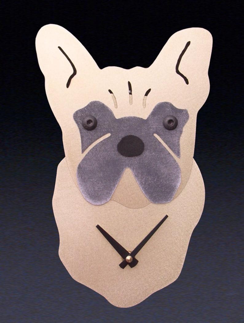 79f1a5e5b French Bulldog Dog Art French Bulldog Clock by Anita | Etsy
