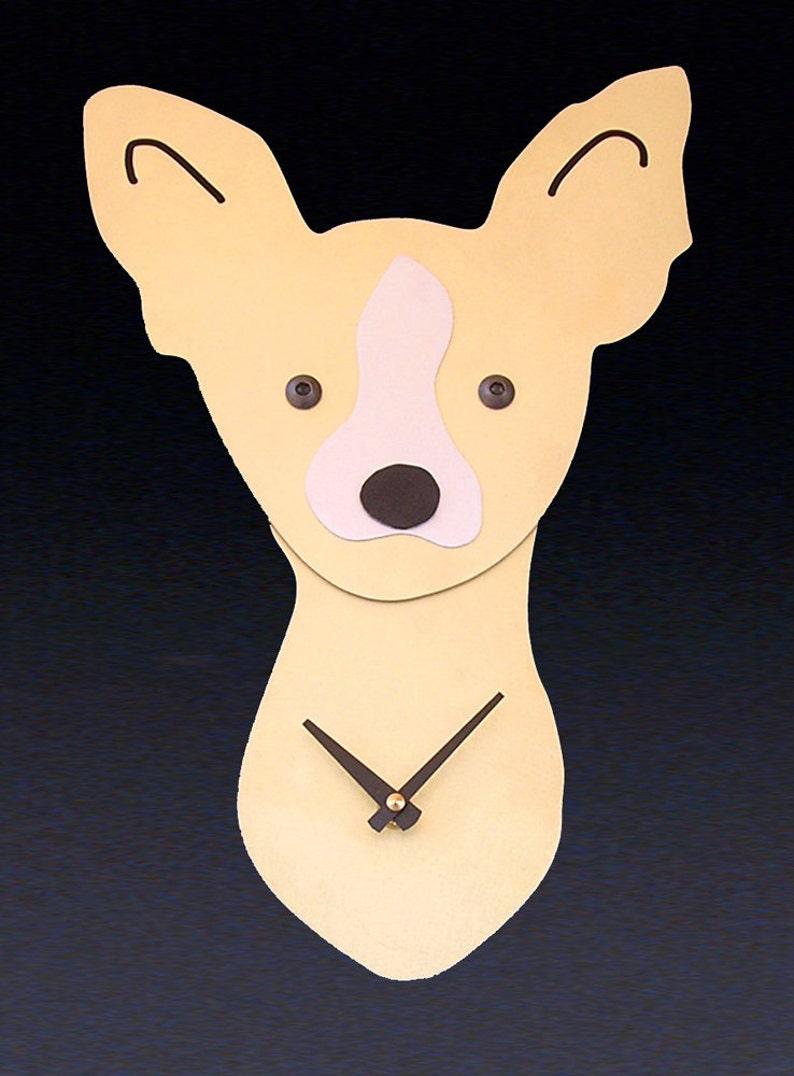 18b11190d Chihuahua Dog Art Chihuahua Clock by Anita Edwards | Etsy