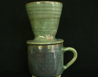 Handmade Ceramic Coffee Pour Over