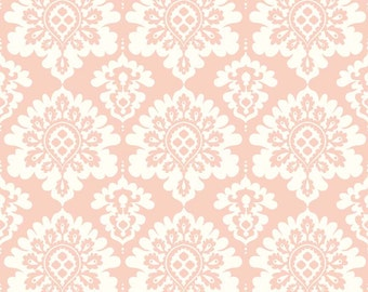 Lost & Found Love Pink Damask fabric