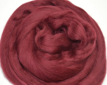 4 oz Ready to ship Gray Fog Color Wool Combed Top 2 oz Extra Fine Merino Wool Roving 19mc
