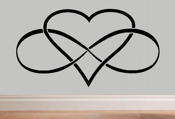 Forever And Always Infinity Symbol Infinity Wall Decal Bedroom
