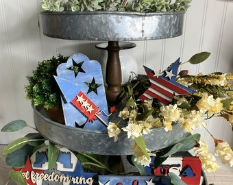 4th of July Tiered Tray Decor Bundle
