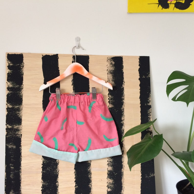 DANCE 1-3 Years Childrens Shorts Pants Cullottes Cotton image 0