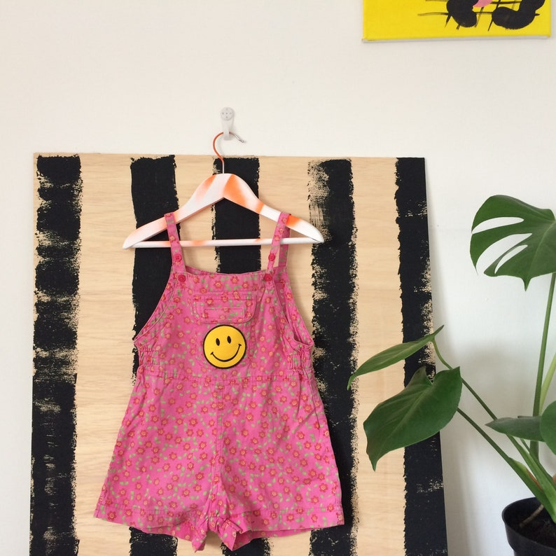 SWEETIE 2-3 Kids Dungarees Childrens Jumpsuit Cotton Pattern image 0