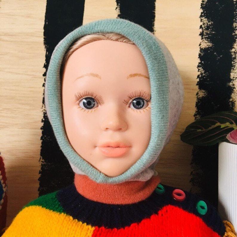 DIZZY 6-12 Months Cashmere Baby Kids Hat Balaclava Toddler image 0