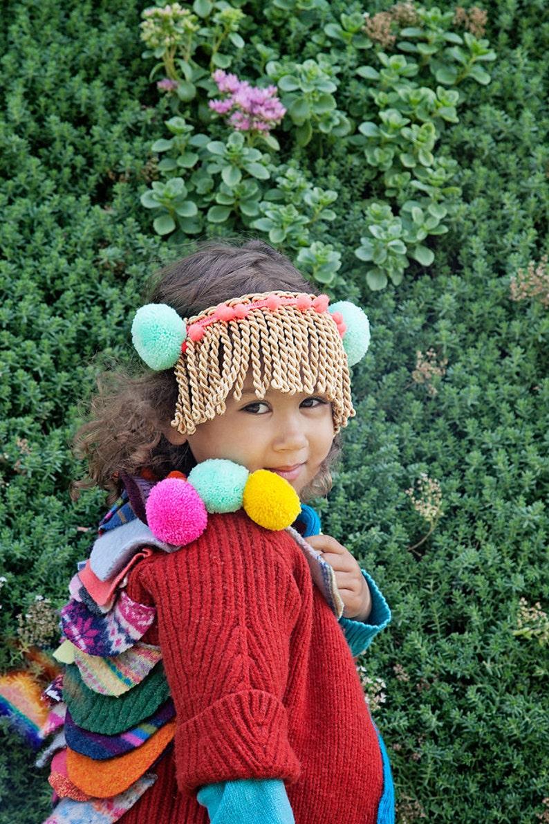 SHOW 3-4 Years Kids Childrens Wool Showpiece Jacket Coat image 0
