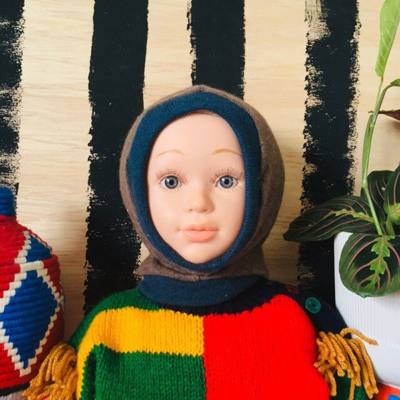 DIZZY 1-3 Years Childrens Kids Cashmere Hat Balaclava Wool image 0