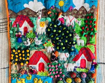 Baby Newborn Toddler Children's Nursery Wall Hanging handmade Craft Gift Christening Baby