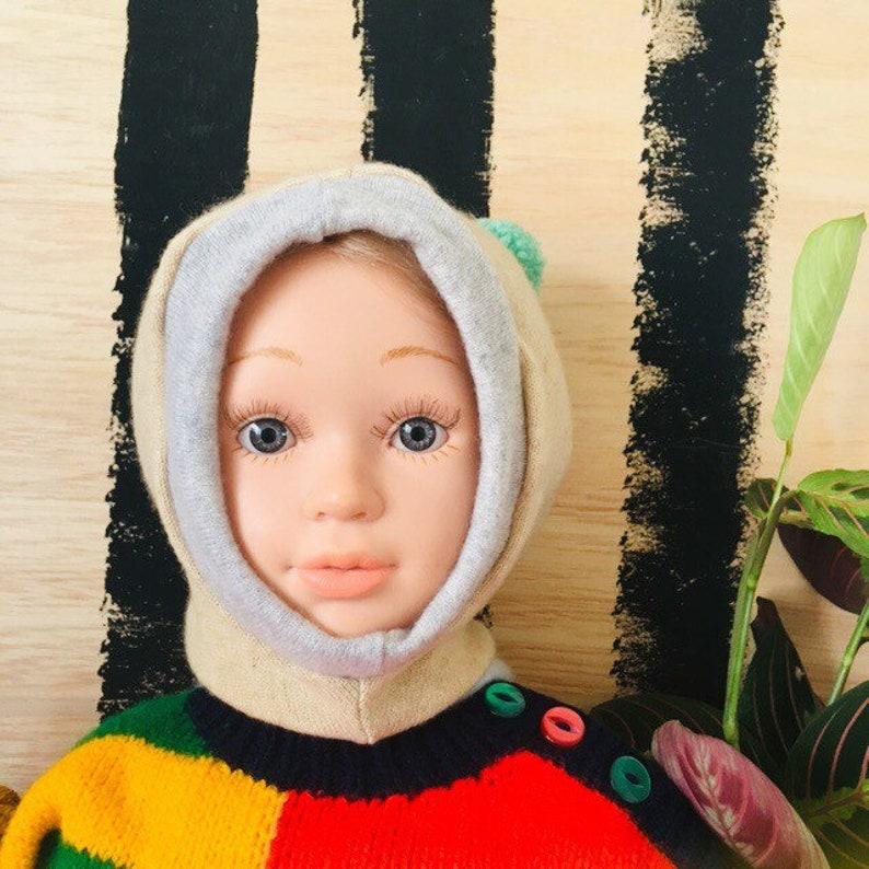 DIZZY 4-7 Years Childrens Kids Cashmere Hat Balaclava Wool image 0