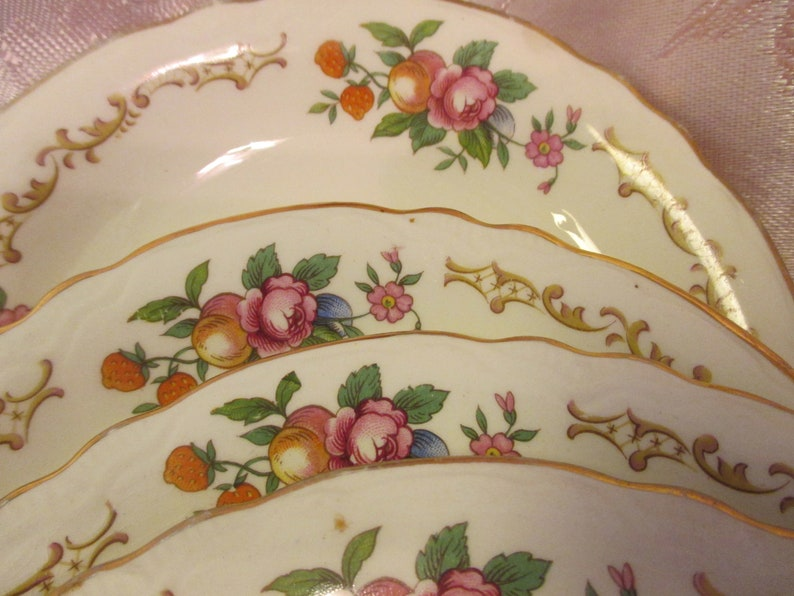 set of 2 Saucers only Homer Laughlin Republic R1294