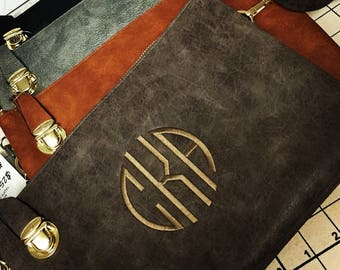 Monogrammed clutch/purse-FAST SHIPPING