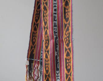 Vibrant Fokupers Ikat from the Island of Timor