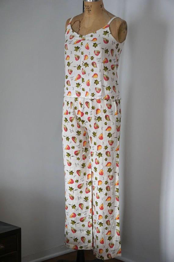 D'Anjou/Bosc Pears Linen Outfit/Linen Set/Linen P… - image 2