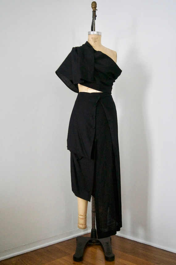 S Studio L Skirt Sculptural M Xiao Linen wSAIgIq4P
