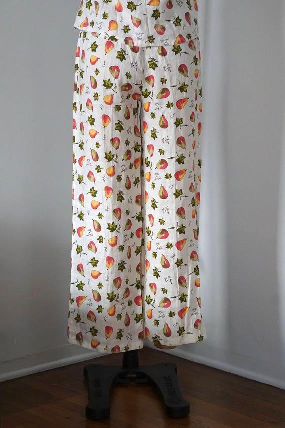 D'Anjou/Bosc Pears Linen Outfit/Linen Set/Linen P… - image 5