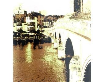 Henley on Thames, una edición limitada de serigrafía