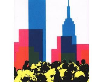 The City : a limited edition silkscreen print