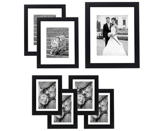 Collage Picture Frame Display Three Photos Sized 5x7 On Your Etsy