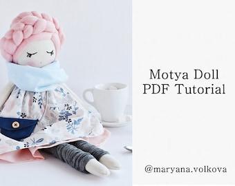 Motya Doll PDF Tutorial - Doll Tutorial - Instant Download