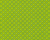 by the Yard Green on Green Dot tonal cotton Quilt fabric Woodland Babes by Fabri Quilt BTY