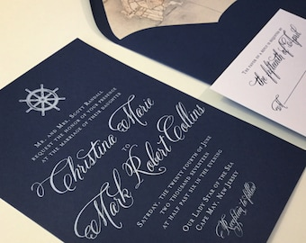 Wedding Invitation - DEPOSIT to Get Started on an Order