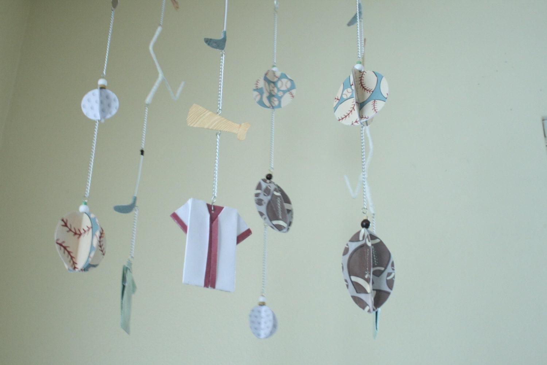 unter dem motto baby mobile origami mobile junge mobile etsy. Black Bedroom Furniture Sets. Home Design Ideas