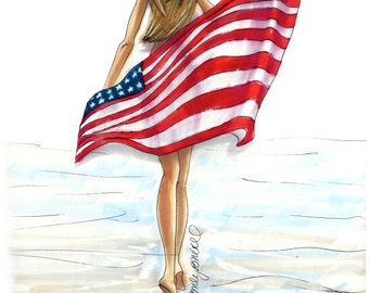 from Mathew photos american flag nude girls