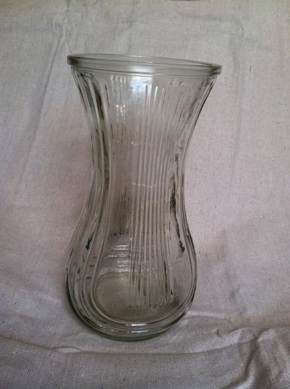 Vintage Hoosier Glass Vase 4086 B Etsy