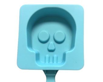 Skull Silicone Mold ~ Cakesicle Mold ~ Halloween Mold ~ Popsicle Mold