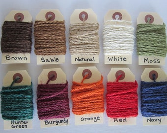 Colored jute rope   Etsy